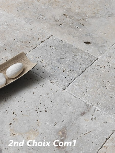 Travertin beige SELECT Opus Romain 4F ou 40x60 & Colle offerte !!